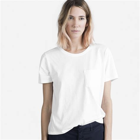 Box Cut T Shirt White best white t shirts popsugar fashion