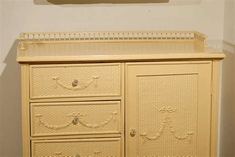 Wicker Chest Of Drawers Furniture by American 1920s Wicker Chest Of Drawers At 1stdibs