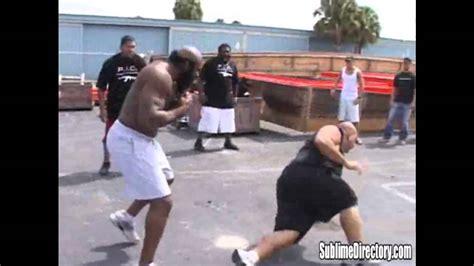 Kimbo Slice Backyard Fights by Kimbo Slice Vs Afropuff And Big Mac