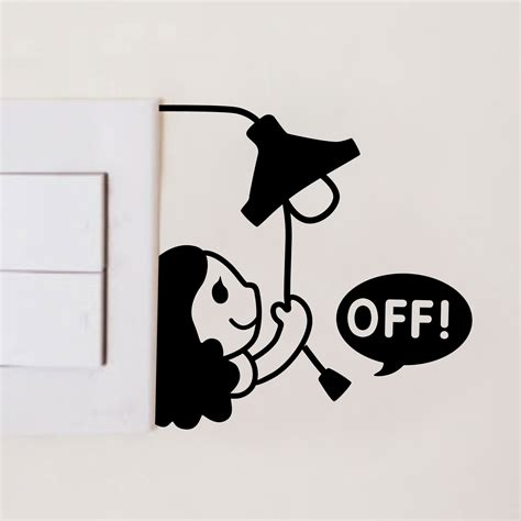 Jungle Wall Sticker online get cheap turn off light switch stickers