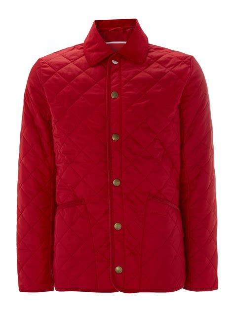 Padded Quilted Jacket by Barbour Pantone Tony Heritage Quilted Padded Jacket In