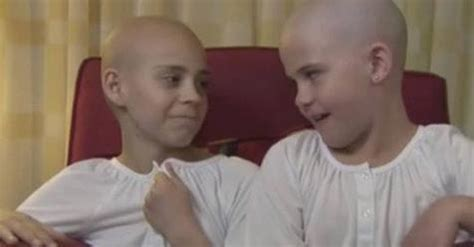 girl who shaved head to support friend pays a horrible