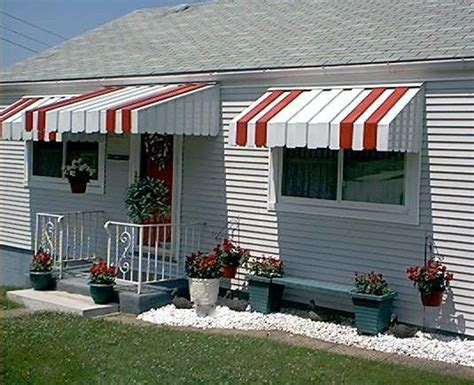 aluminum window awnings for home aluminum awnings house awnings and metal awning on pinterest