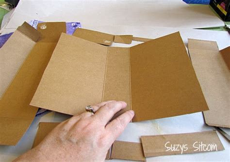 How To Make A Box With Chart Paper - easy to make diy purse organizer diy purse organizer