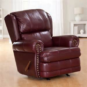 berkline cambridge leather rocker recliner at hayneedle