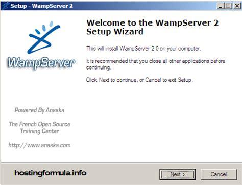 install wordpress for home development : install wamp server