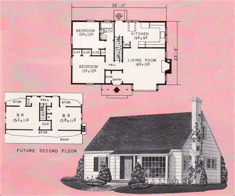 Small Cape Cod House Plans by Small Cape Cod House Plans Studio Design Gallery