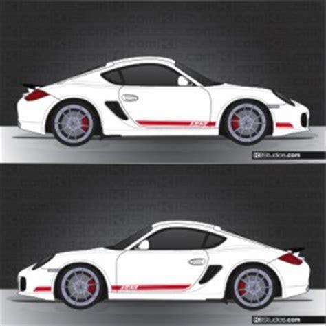 Porsche Aufkleber Gts by Ki Studios Stripes In 2 Colors For Porsche 987 Cayman S
