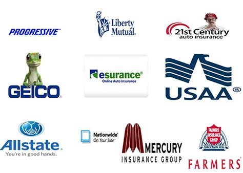 list  car insurance companies  usa cheap insurance