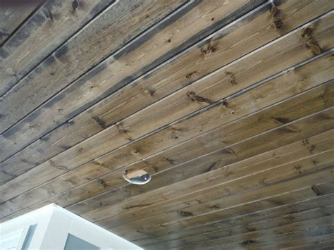 wood car porch pine car siding porch ceiling stained hardie shingle