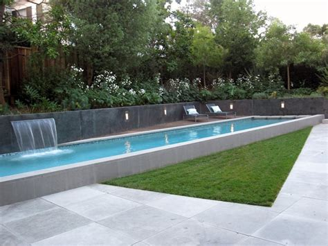lap pool designs modern pool sausalito ca photo gallery landscaping