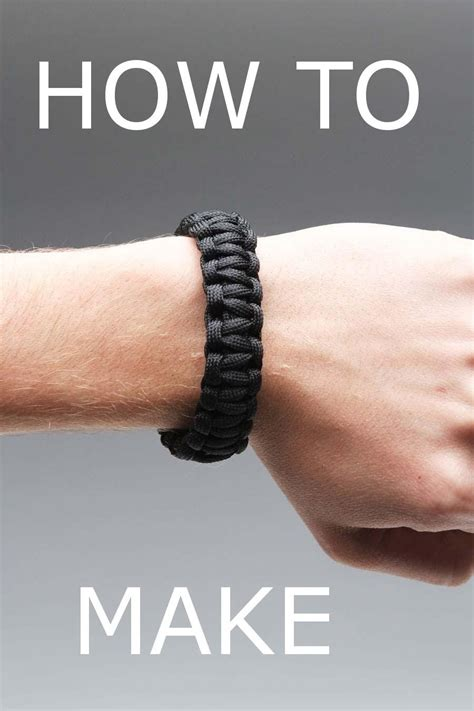 how to make a paracord bracelet with two colors how to make a paracord bracelet with buckle and two colors