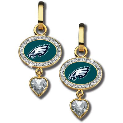 danbury mint philadelphia eagles ornament philadelphia eagles earrings the danbury mint