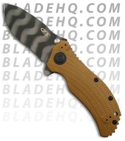 zero tolerance 0302 zero tolerance 0302 assisted opening knife tiger stripe