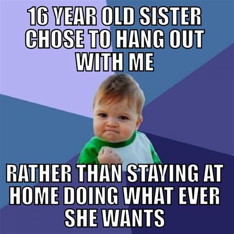 Memes About Sisters - little sister memes www imgkid com the image kid has it