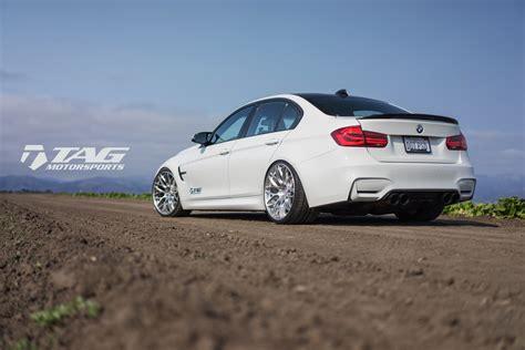custom white bmw alpine white bmw m3 with hre rc100 custom wheels