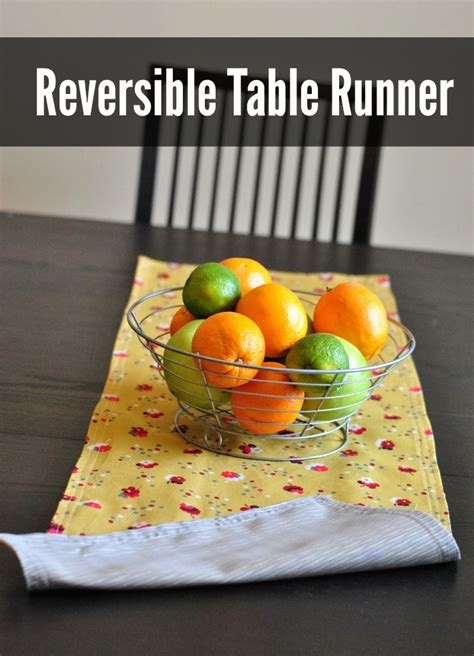 How To Sew A Table Runner by Sew A Reversible Table Runner Free Printable Pdf Pattern