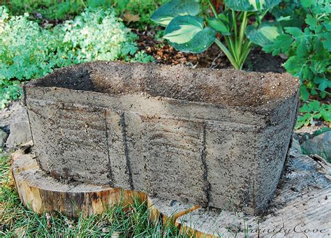 Make Planters by Serenity Cove A Hypertufa Planter