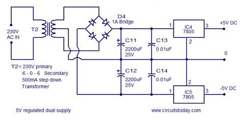 5v 12v power supply circuit diagram frequency to voltage converter circuit diagram world