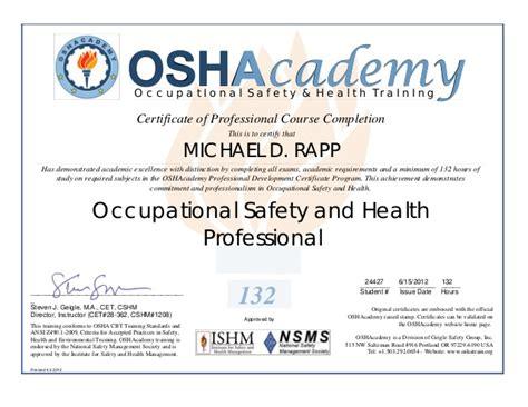 osha 10 certificate template rapp24427 al lcerts