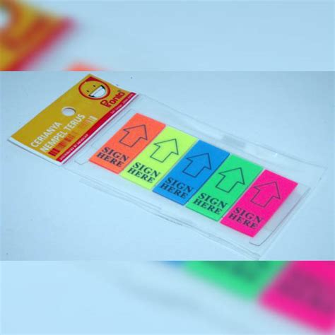 N Notes Pronto Note Sticker Warna Warni jual alat tulis kantor murah surabaya 187 post it pronto sign here 171 sarana sukses surabaya
