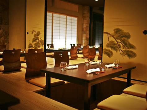 japanese style seating ginza miyako a fusion of japanese and cuisines