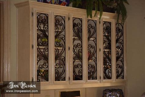 Wrought Iron Cabinet Door Inserts Wrought Iron Cabinet Door Inserts Home Improvement Pinterest Doors This And