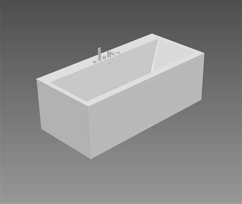 Bathtub Revit by Bath 3d Models Paper Bathtub By Teuco