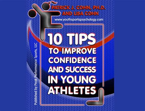 10 Secrets To Confidence by 10 Tips To Improve Confidence Success In Athletes