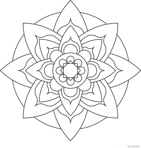 mandala coloring book a coloring book with easy and relaxing mandalas to color gift for boys tweens and beginners books mandalas meditation coloring images