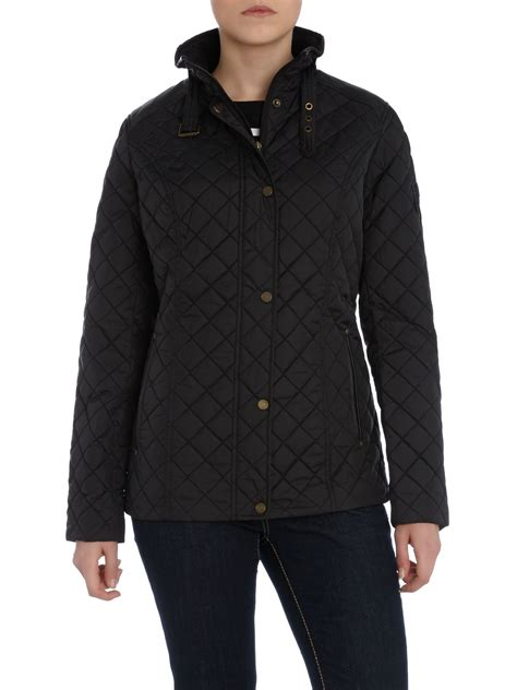 Quilted Jacket With by By Ralph Quilted Jacket With Faux Leather