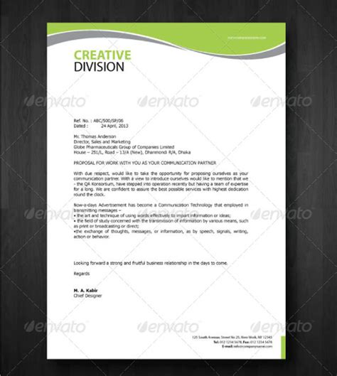importance letterheads business letters