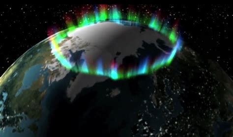 Auroras From Space Pictures | auroras dance over northern u s last night may return