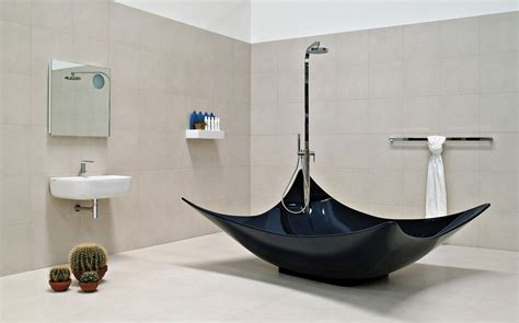 freistehende badewanne schwarz freistehende badewanne im bad 50 gestaltungsideen