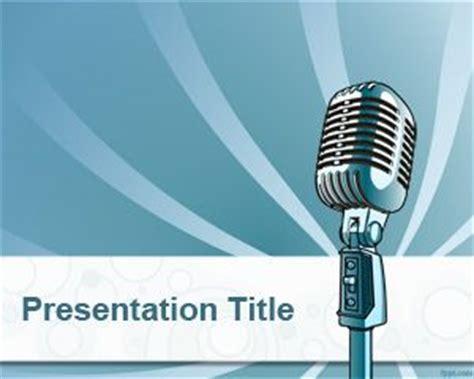 template powerpoint karaoke online radio powerpoint template