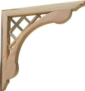 Porch Corbels Brackets by Handcrafted Designer Wooden Corbels Brackets For Pergola