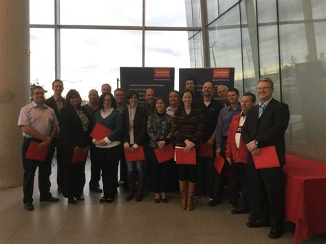 Brock Mba Courses by Goodman School Of Business Celebrates Graduating Cohort