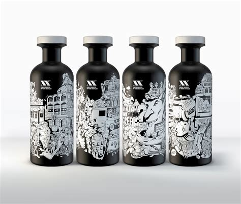art design in bottle see the awesome whisky bottles designed for purple s 20th