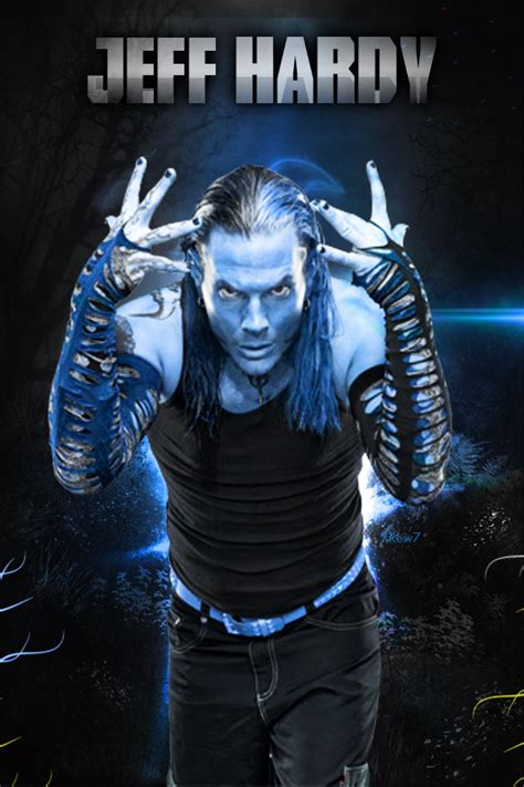 jeff hardy poster by xrew7 on deviantart