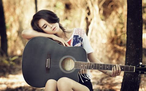 guitar couple hd wallpaper photo collection cool guitar wallpapers girls
