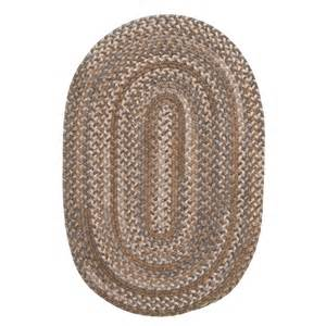 Oval Rugs Colonial Mills Millworks Oval Rug Braided Wool 3x5