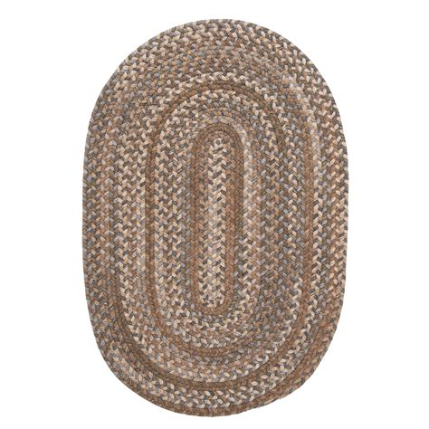 Oval Braided Rugs 5x8 colonial mills millworks oval rug braided wool 5x8