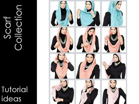 tutorial pashmina jersey 58 best hijab and hair wraps images on pinterest hijab