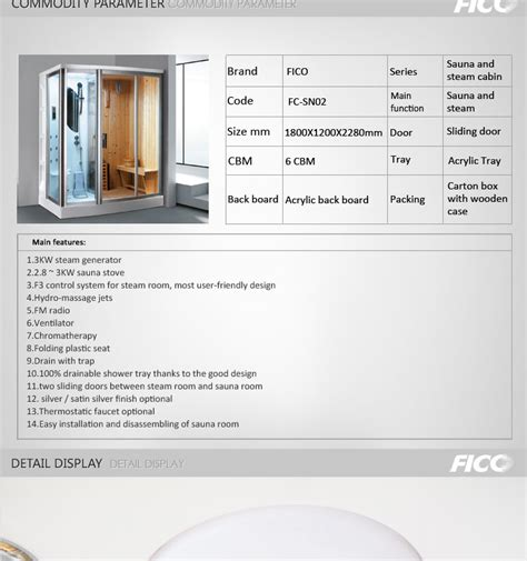 Steam Room Detox Thc by Fc Sn02 Room Classic Sauna Room