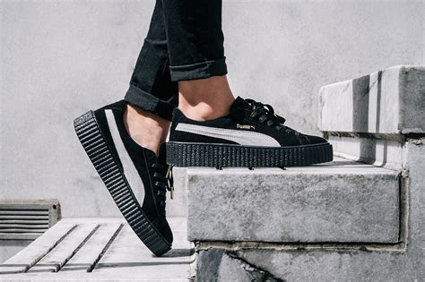Premium Quality Fenty X Creepers By Rihanna Black Gum Sole coming soon rihanna x suede creeper wish