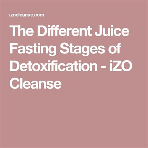 Juice Cleanse Detox Stages by 70 Best Health Images On Medicine