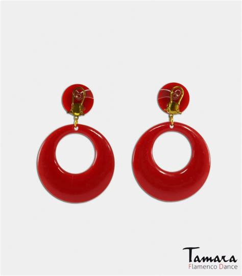 Big Flamengo earrings big size m flamenco earrings tamara flamenco
