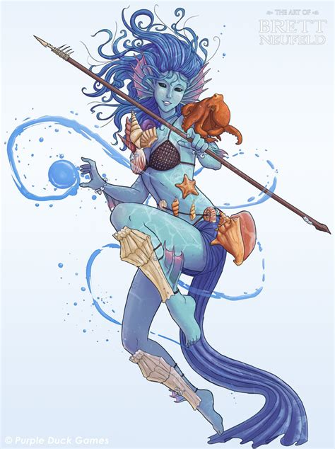 druid of the sea by brett neufeld on deviantart