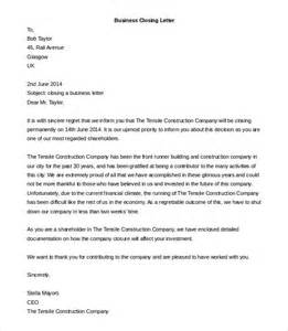 Unfriendly Business Letter Closings Business Letter Template 44 Free Word Pdf Documents