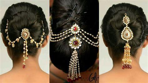 Indian Wedding Hair Bun Pin by Juda Pin Designs Bun Pin Designs Indian Wedding